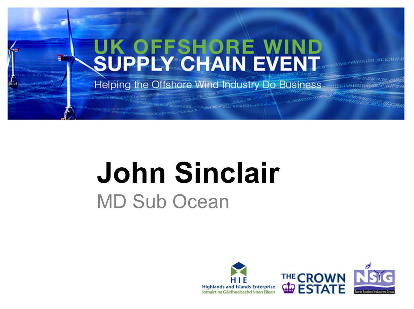 John Sinclair MD Sub Ocean