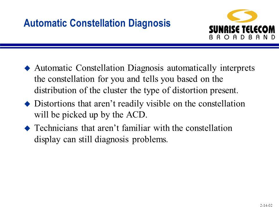 Automatic Constellation Diagnosis