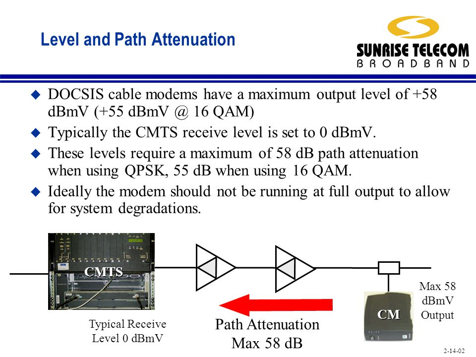 Level and Path Attenuation