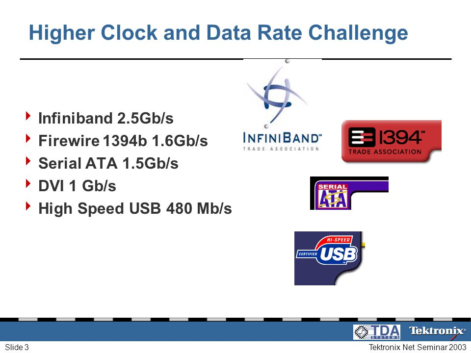 Higher Clock and Data Rate Challenge