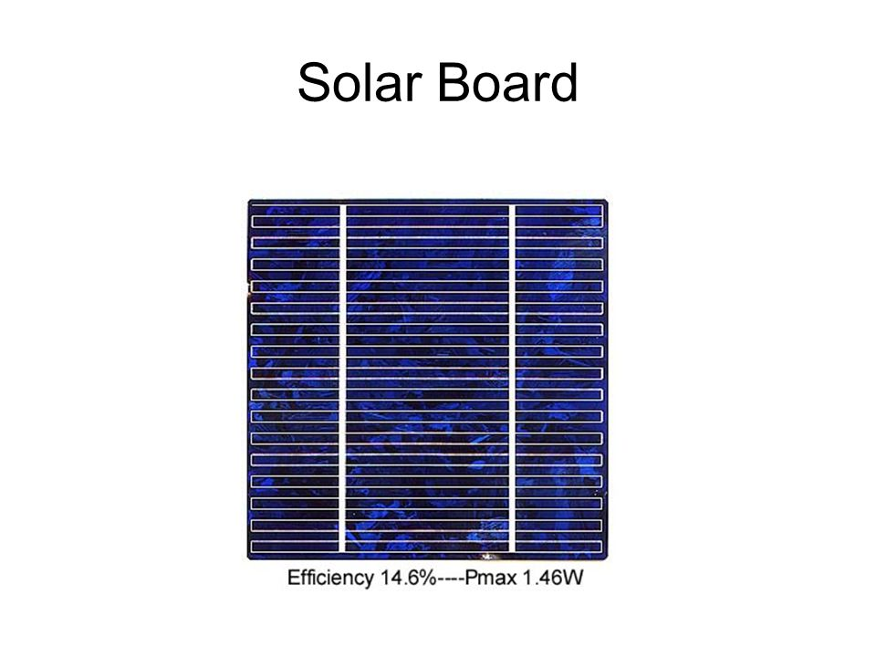 Solar Board