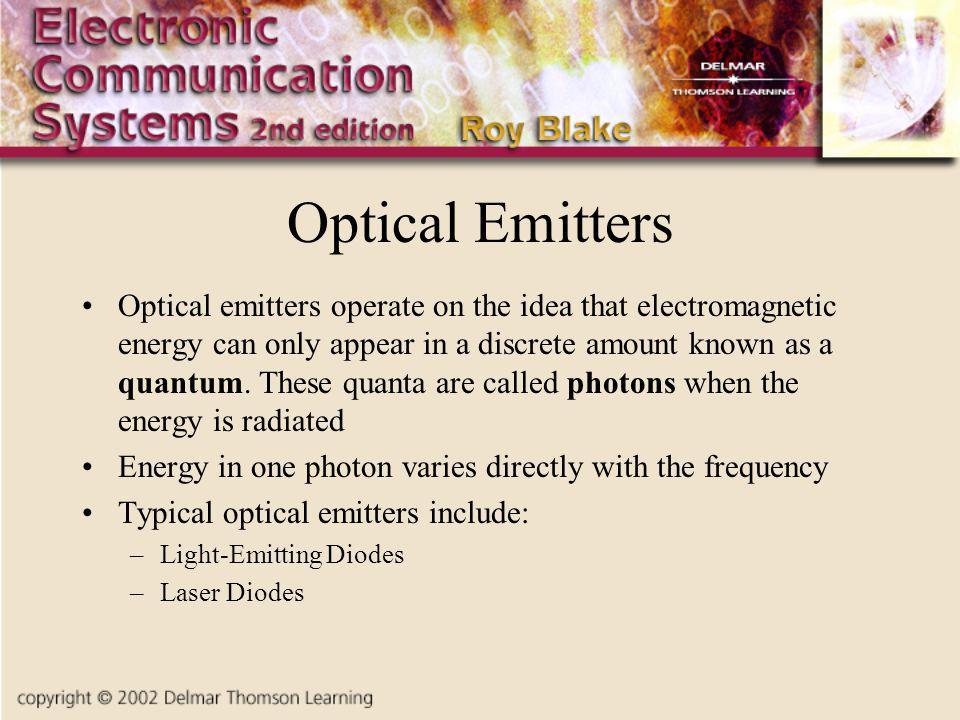 Optical Emitters