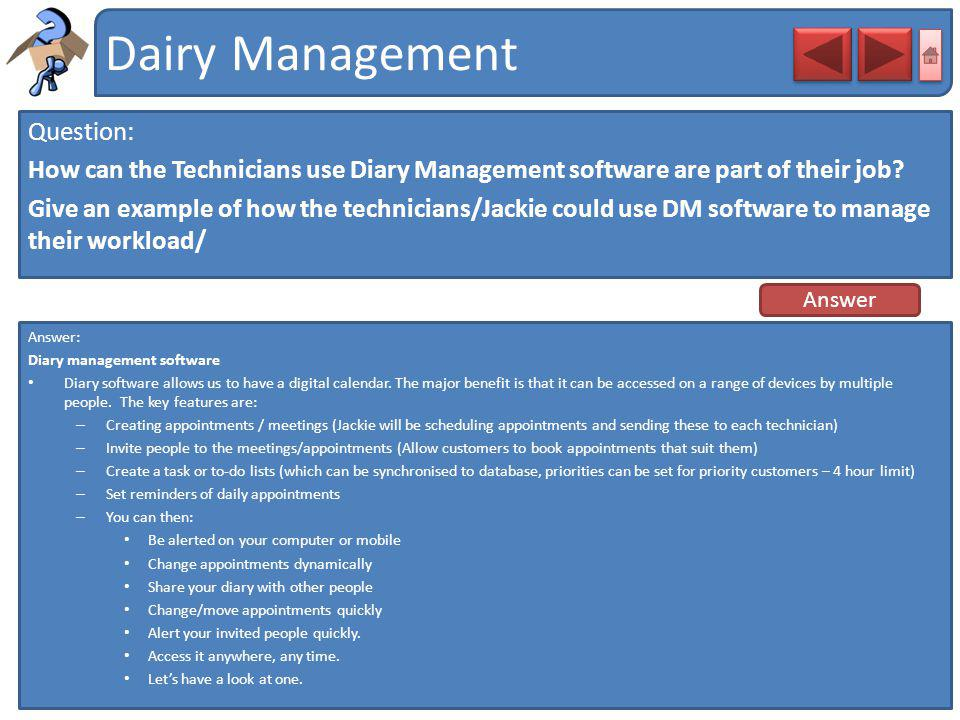 Dairy Management