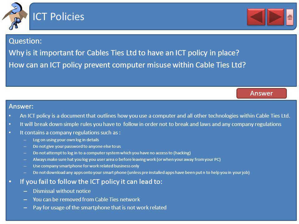 ICT Policies