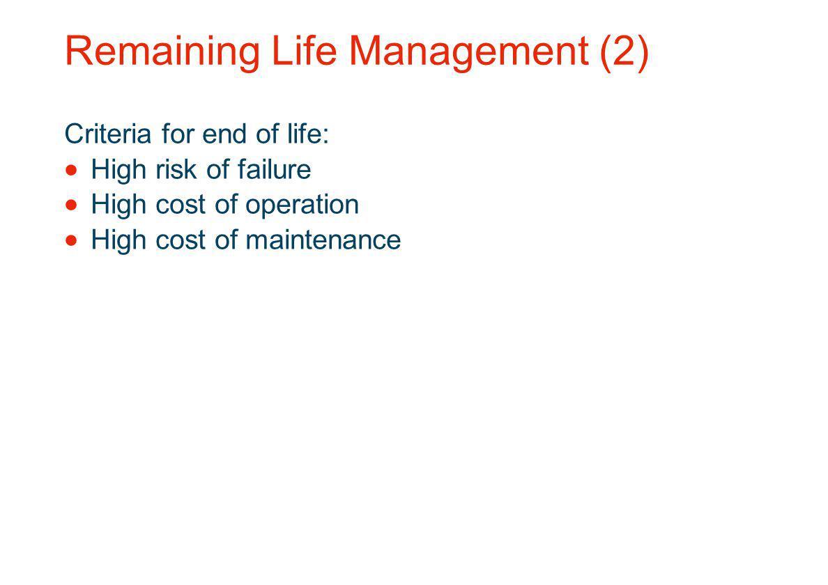 Remaining Life Management (2)