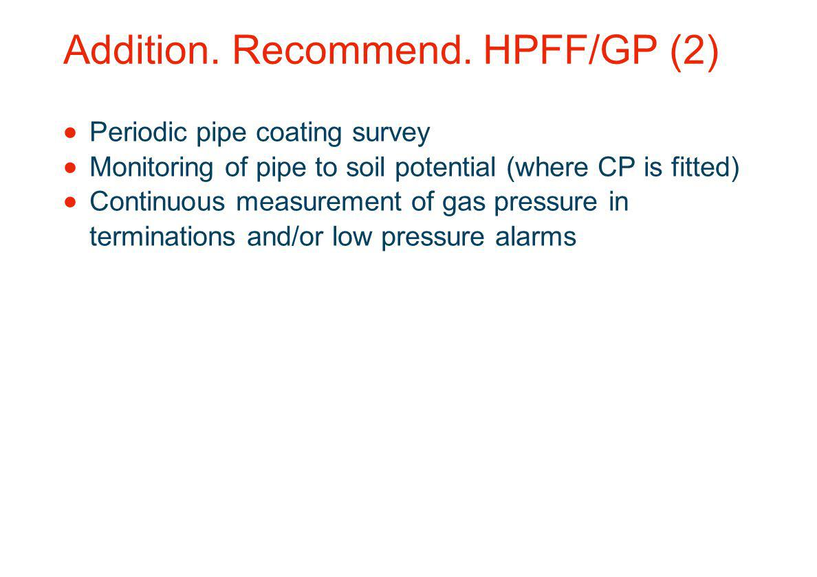 Addition. Recommend. HPFF/GP (2)