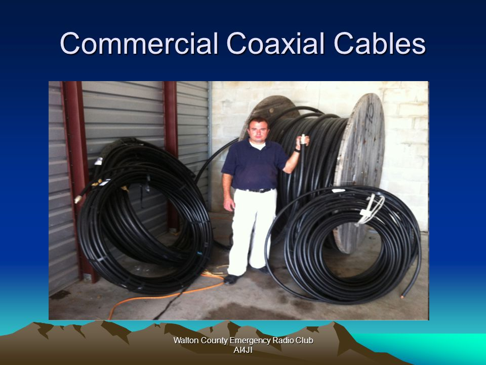 Commercial Coaxial Cables