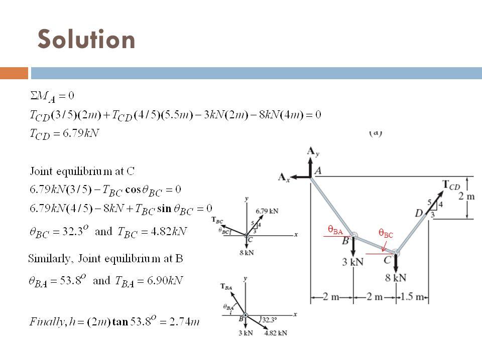 Solution qBA qBC