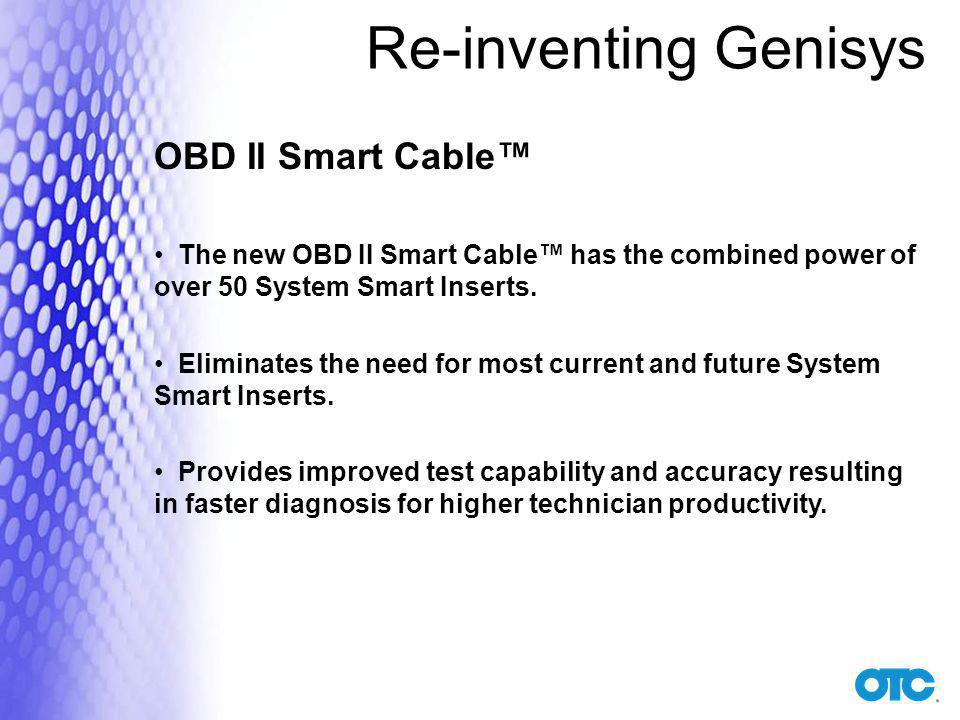 Re-inventing Genisys OBD II Smart Cable™