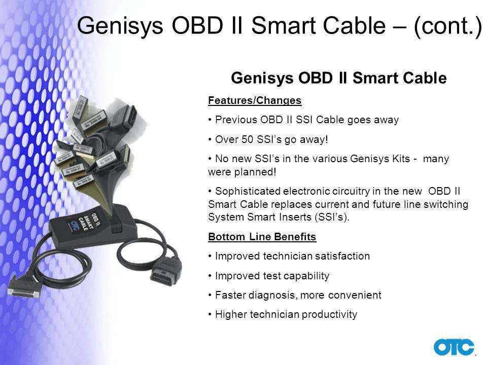 Genisys OBD II Smart Cable
