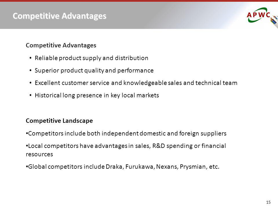 Competitive Advantages