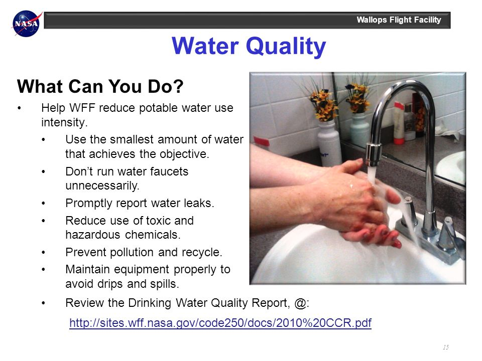 Water Quality What Can You Do
