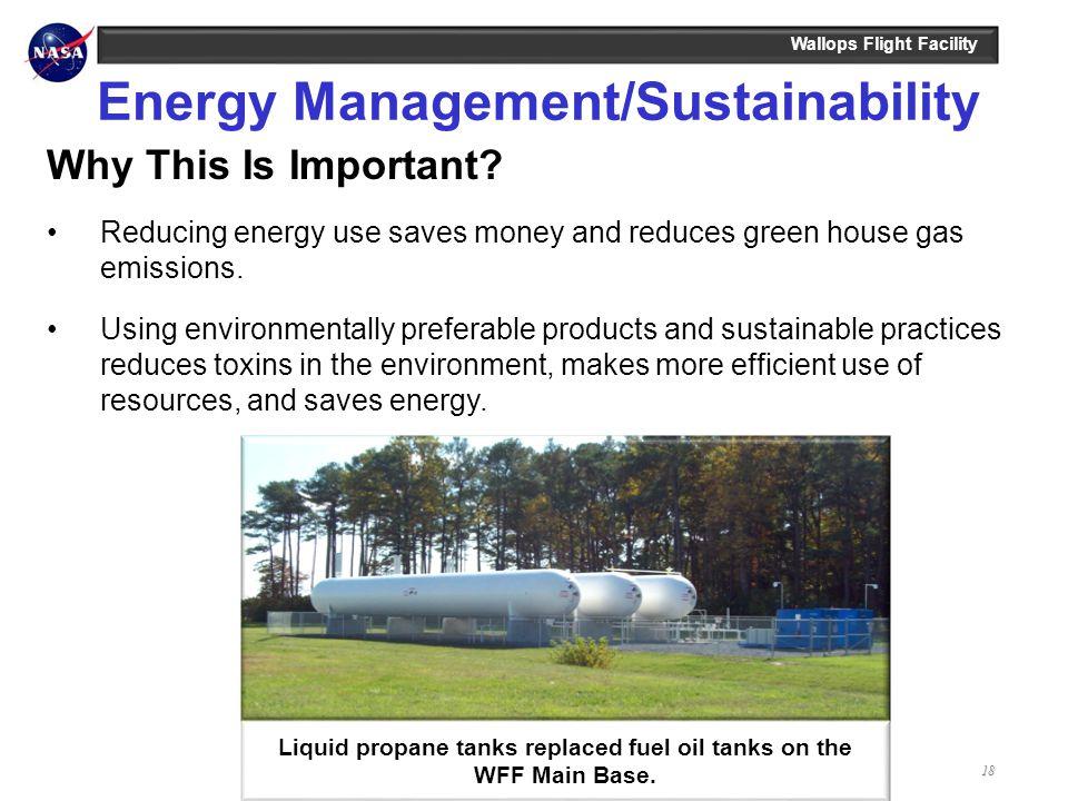 Energy Management/Sustainability