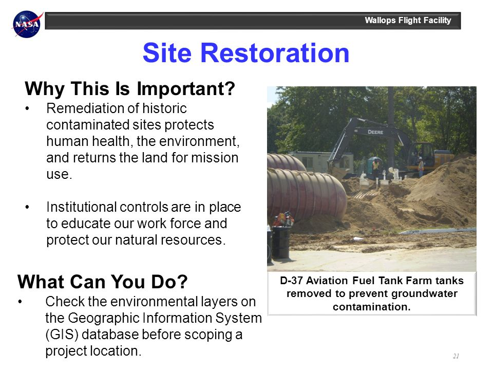 Site Restoration Why This Is Important What Can You Do