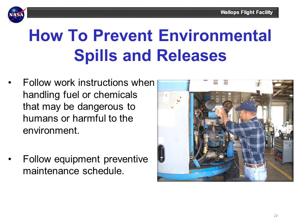 How To Prevent Environmental Spills and Releases