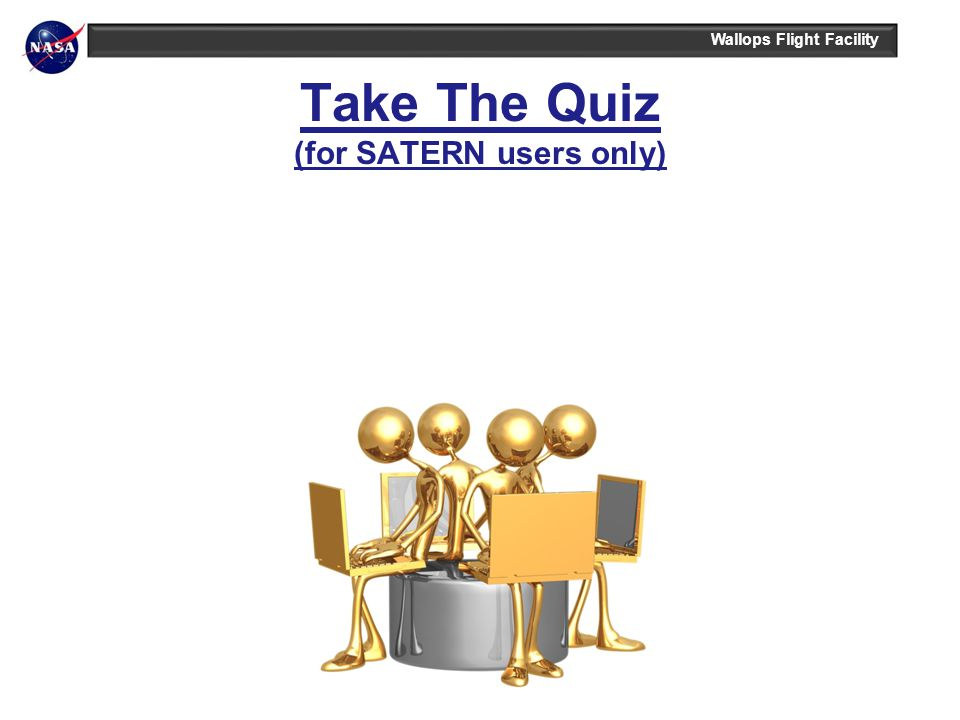 Take The Quiz (for SATERN users only)