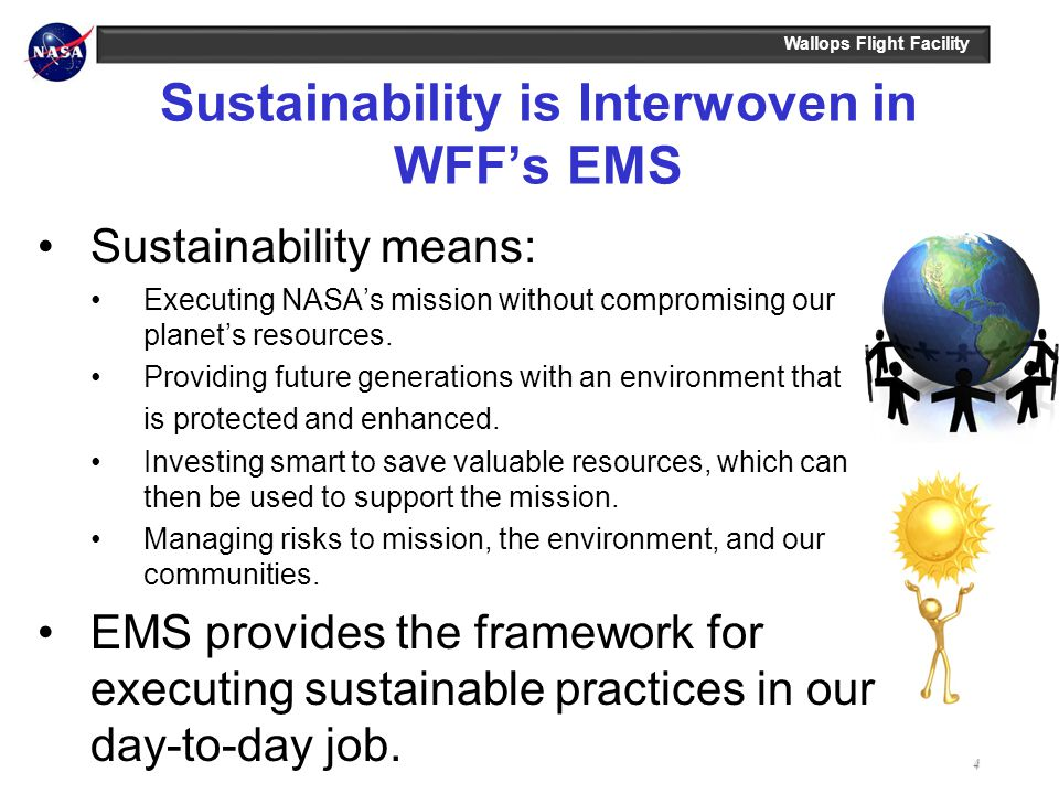 Sustainability is Interwoven in WFF's EMS
