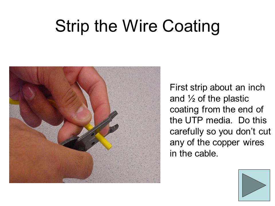 Strip the Wire Coating