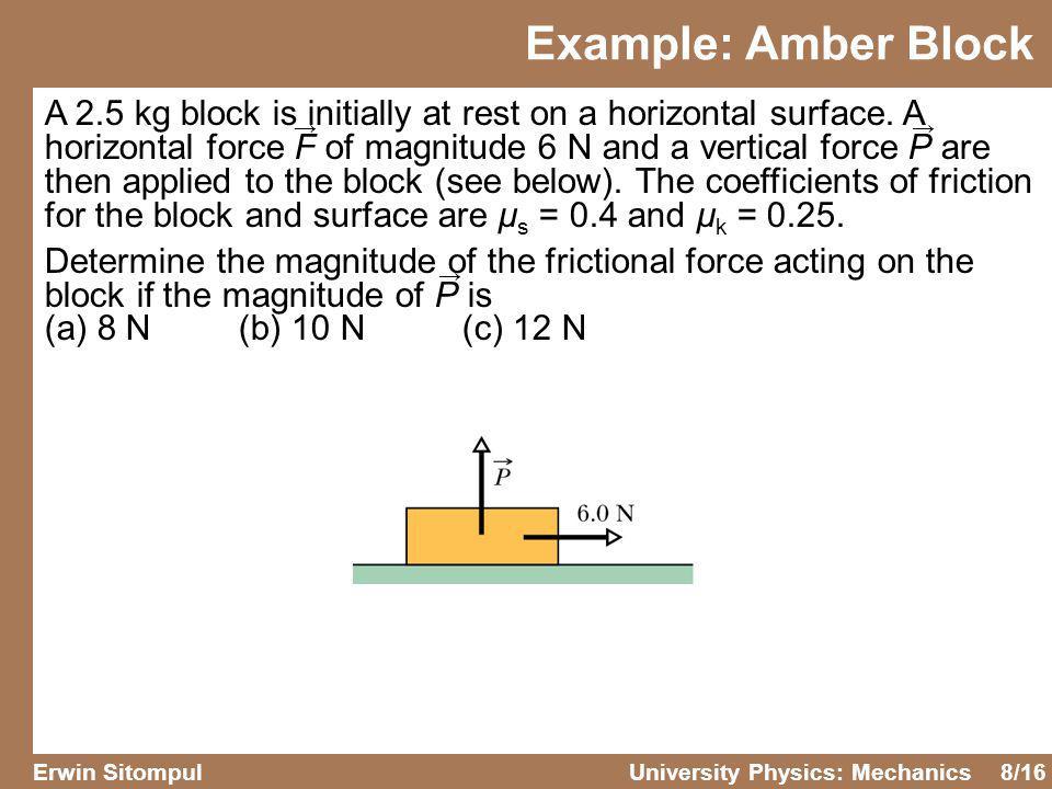 Example: Amber Block