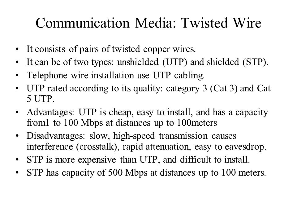 Telecommunications System Components - ppt video online download