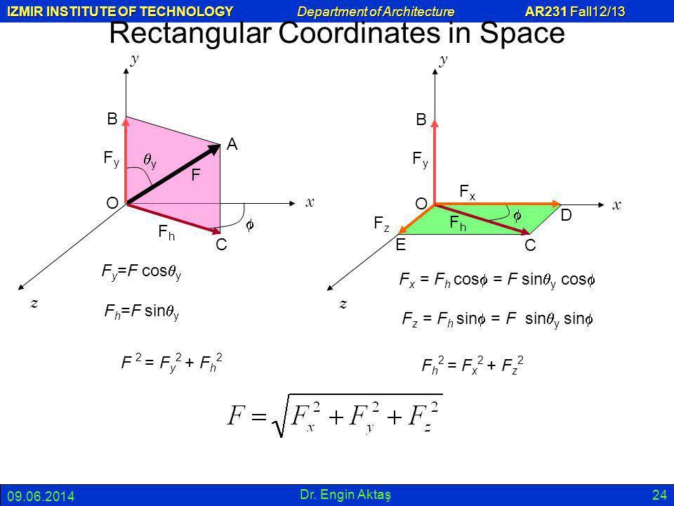 Rectangular Coordinates in Space