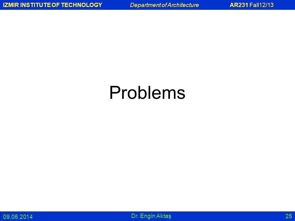 Problems 01.04.2017 Dr. Engin Aktaş