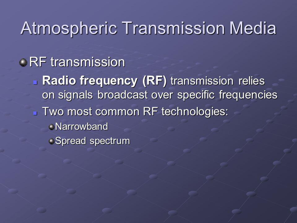 Atmospheric Transmission Media
