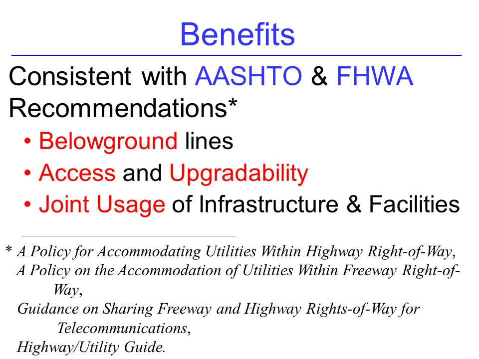 aashto guide for accommodating utilities Aashto guide for accommodating utilities within highway right-of-way aashto right of way and utilities guidelines and best practices utility conflicts lesson 2.