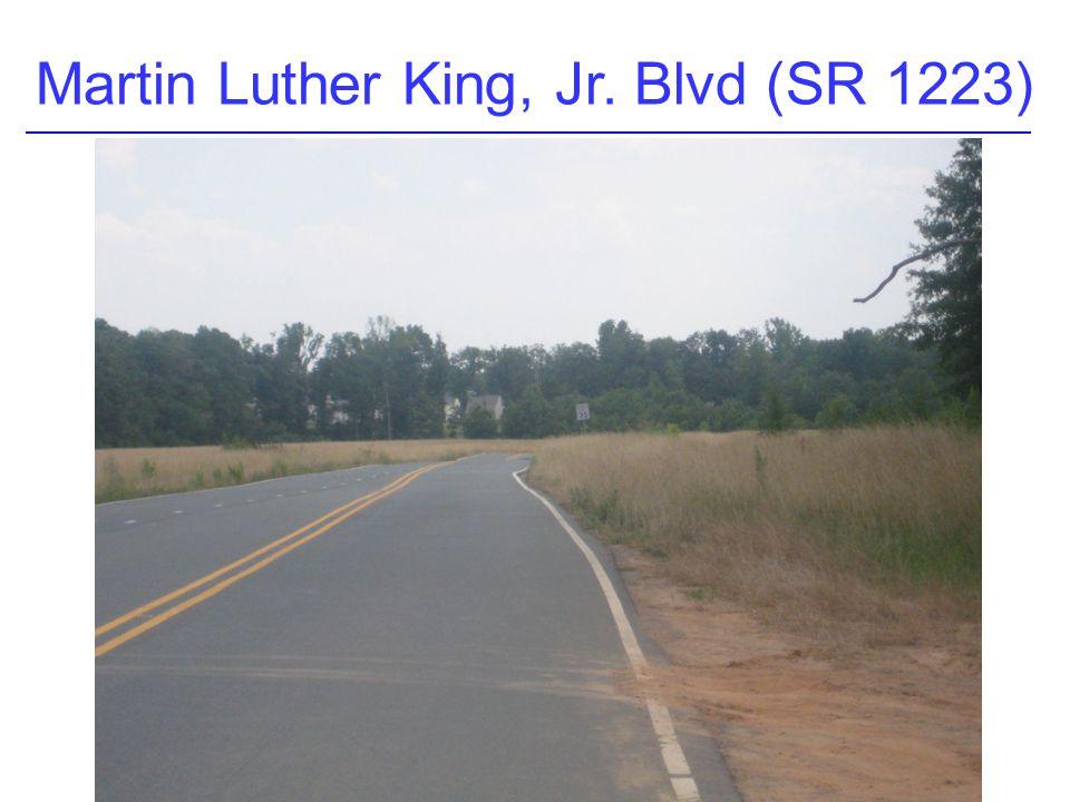 Martin Luther King, Jr. Blvd (SR 1223)