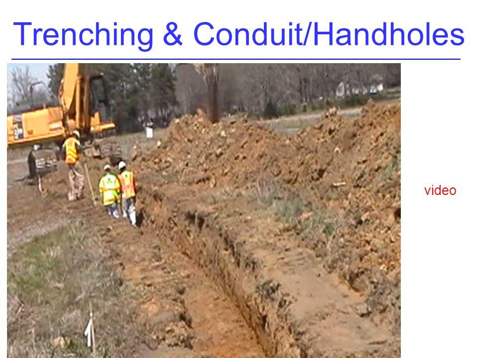 Trenching & Conduit/Handholes