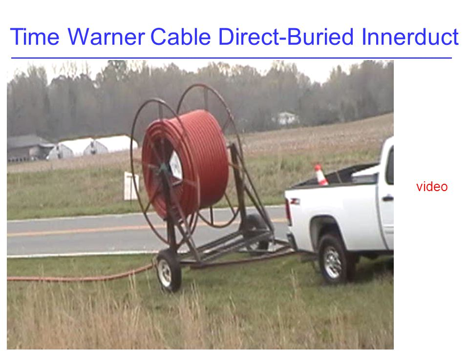 Time Warner Cable Direct-Buried Innerduct