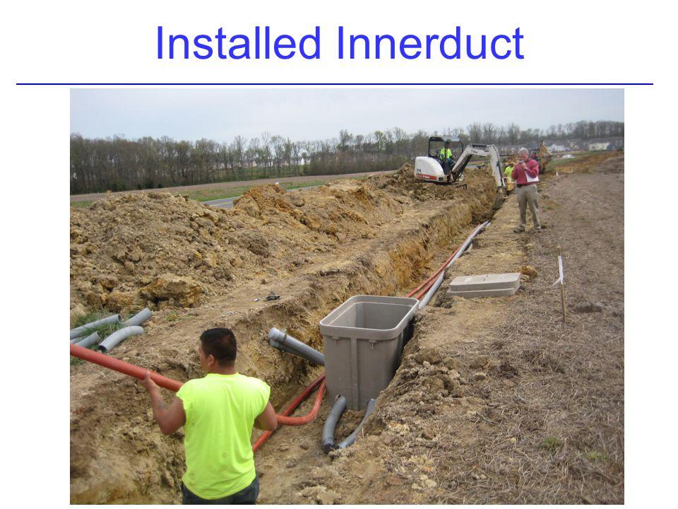 Installed Innerduct
