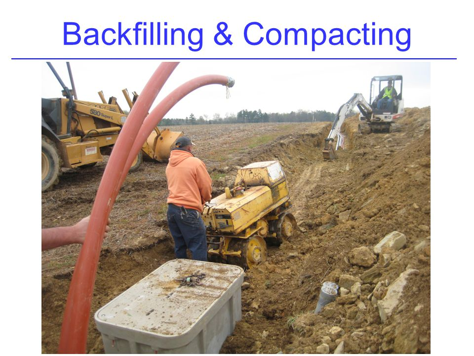 Backfilling & Compacting