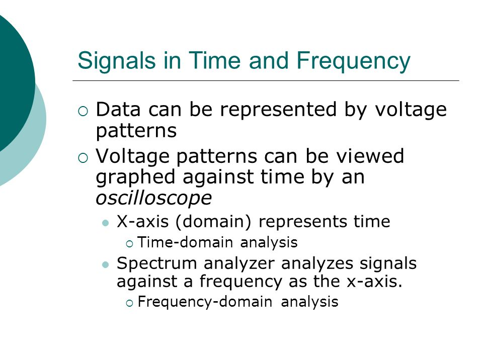 Signals in Time and Frequency
