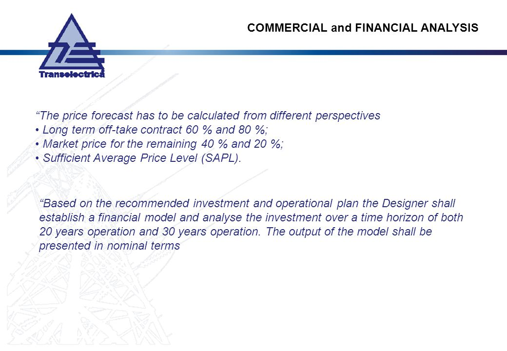 COMMERCIAL and FINANCIAL ANALYSIS
