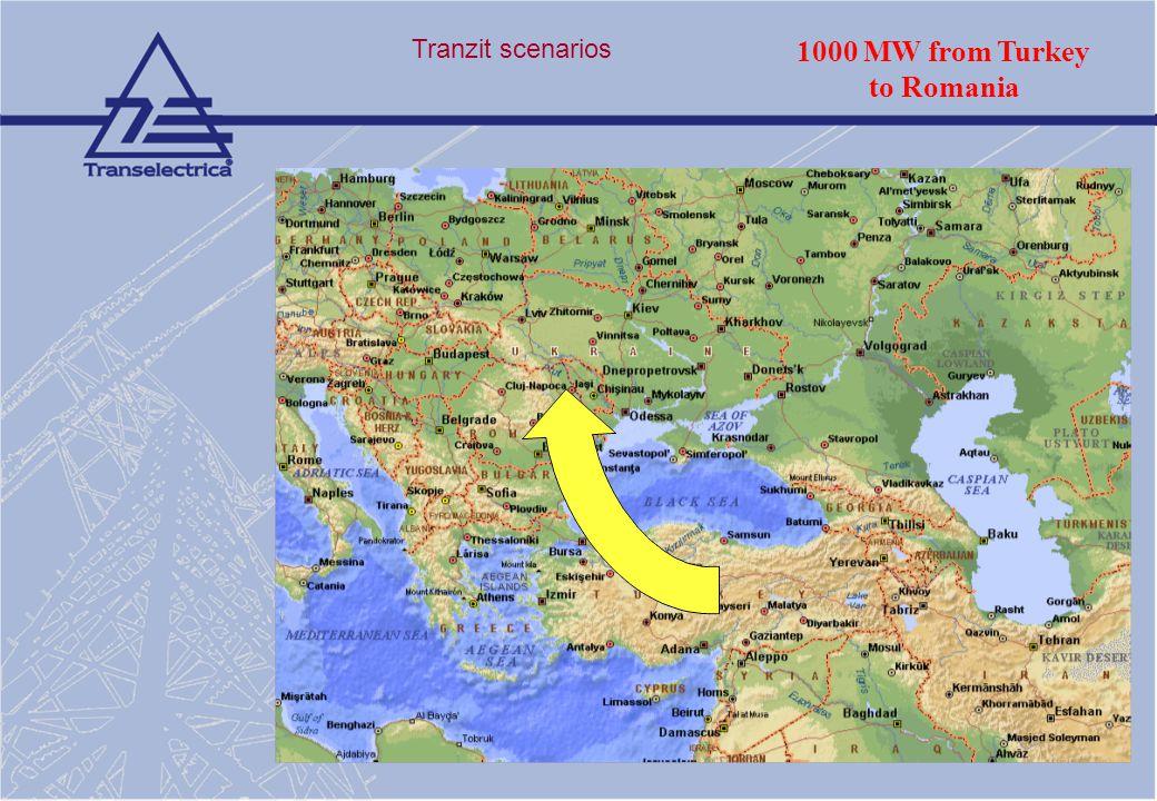 1000 MW from Turkey to Romania