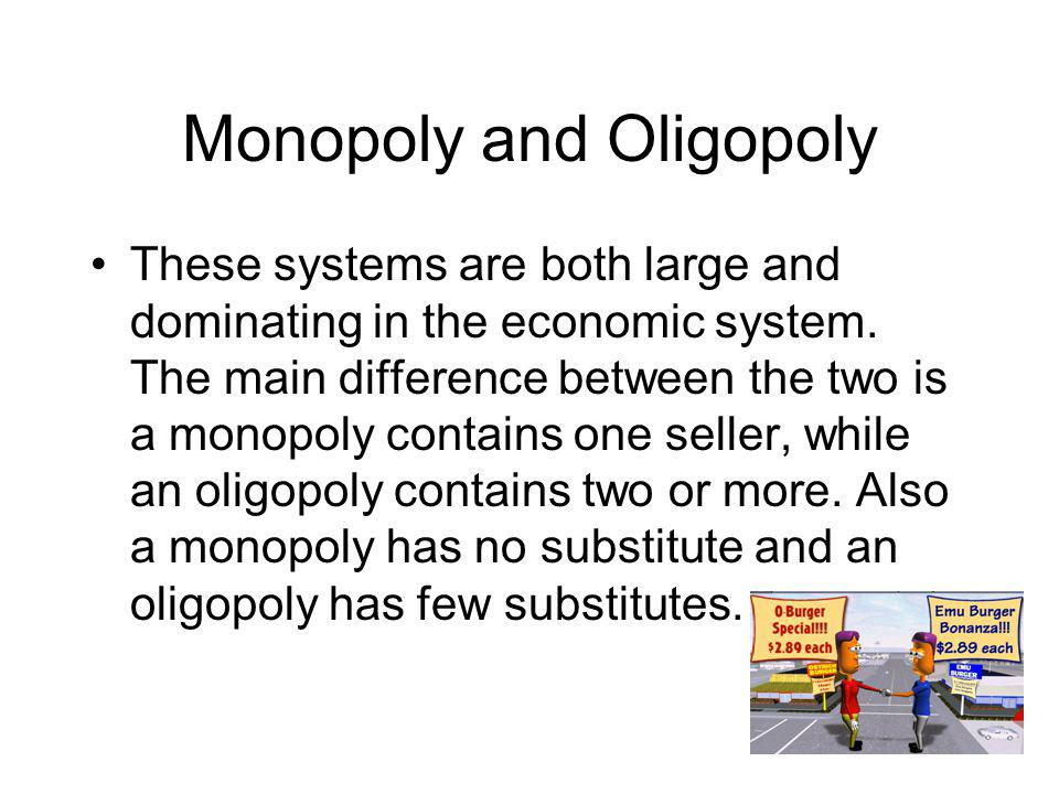 Monopoly and Oligopoly