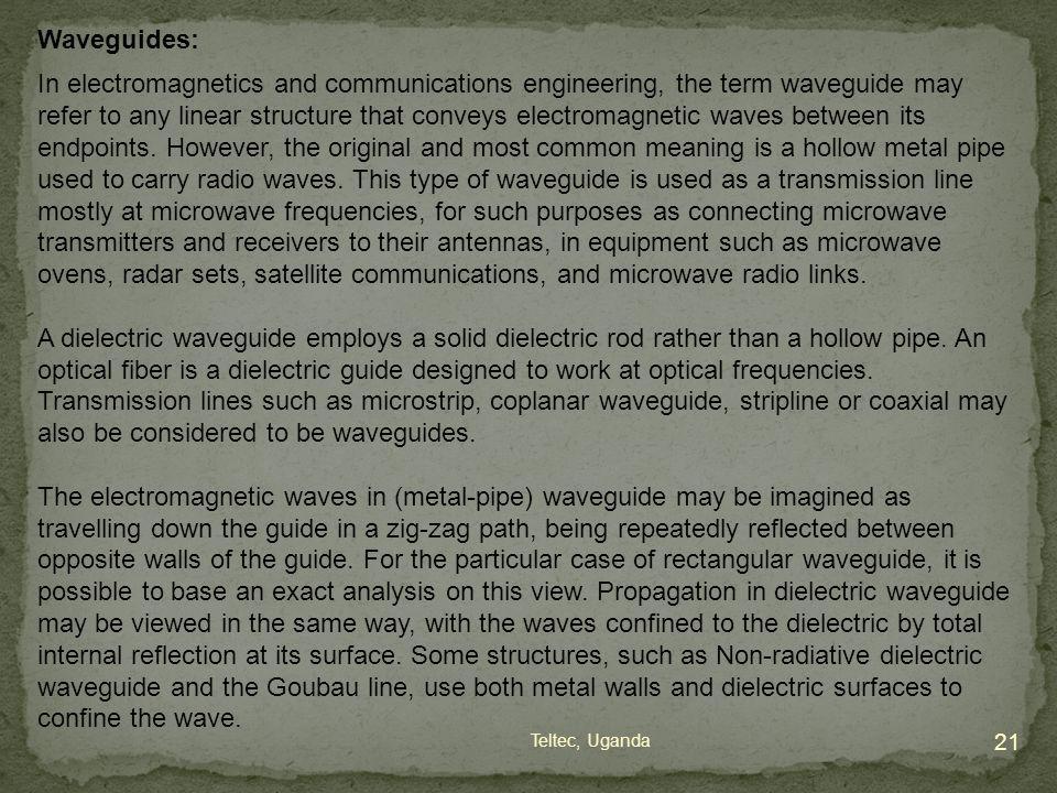 Waveguides: