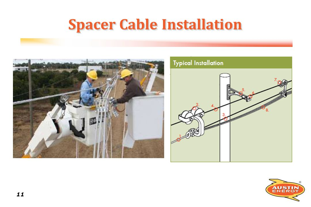 Spacer Cable Installation