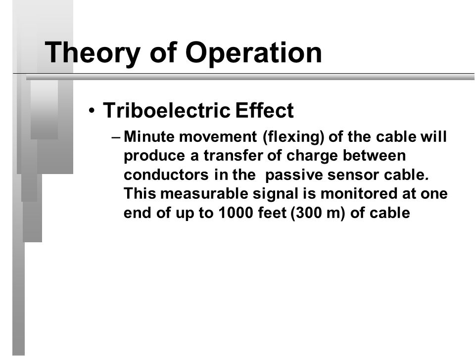 Theory of Operation Triboelectric Effect