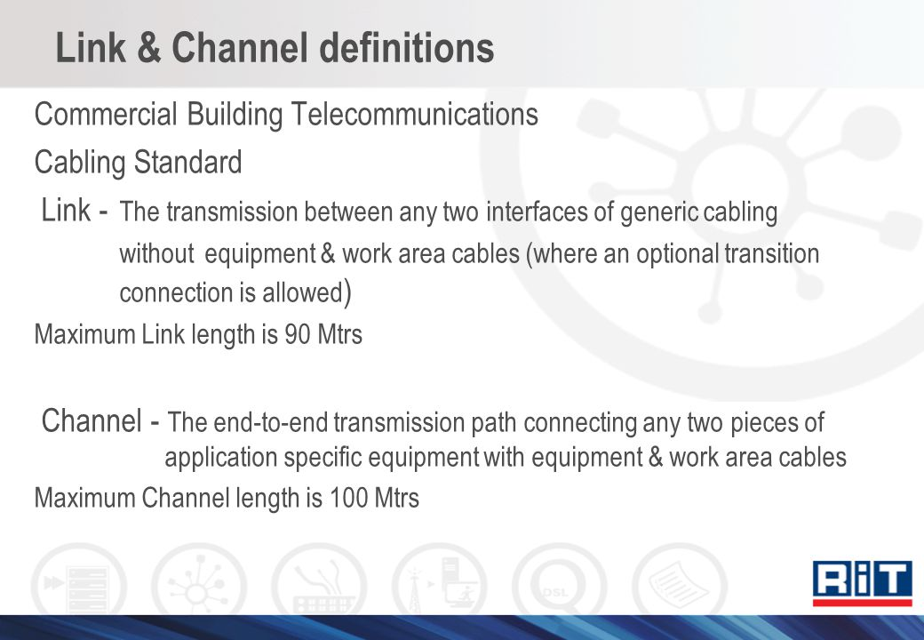 Link & Channel definitions