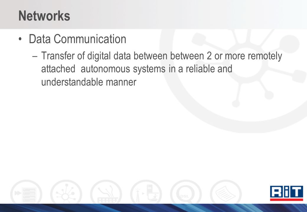 Networks Data Communication