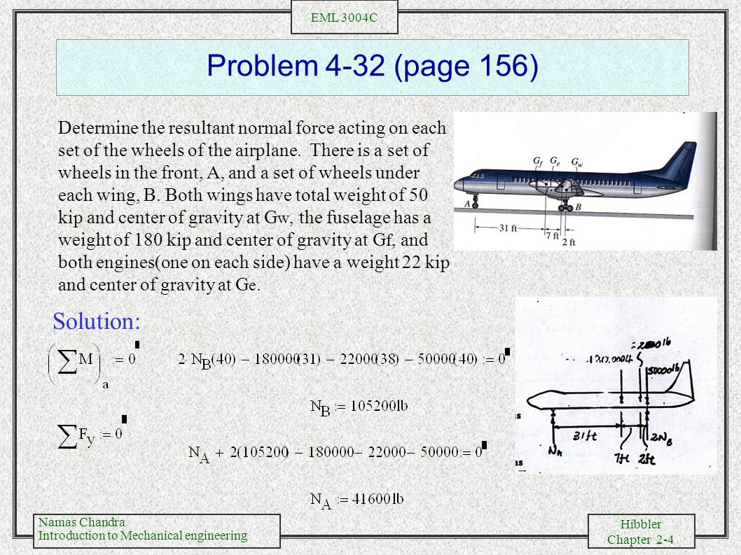Problem 4-32 (page 156) Solution: