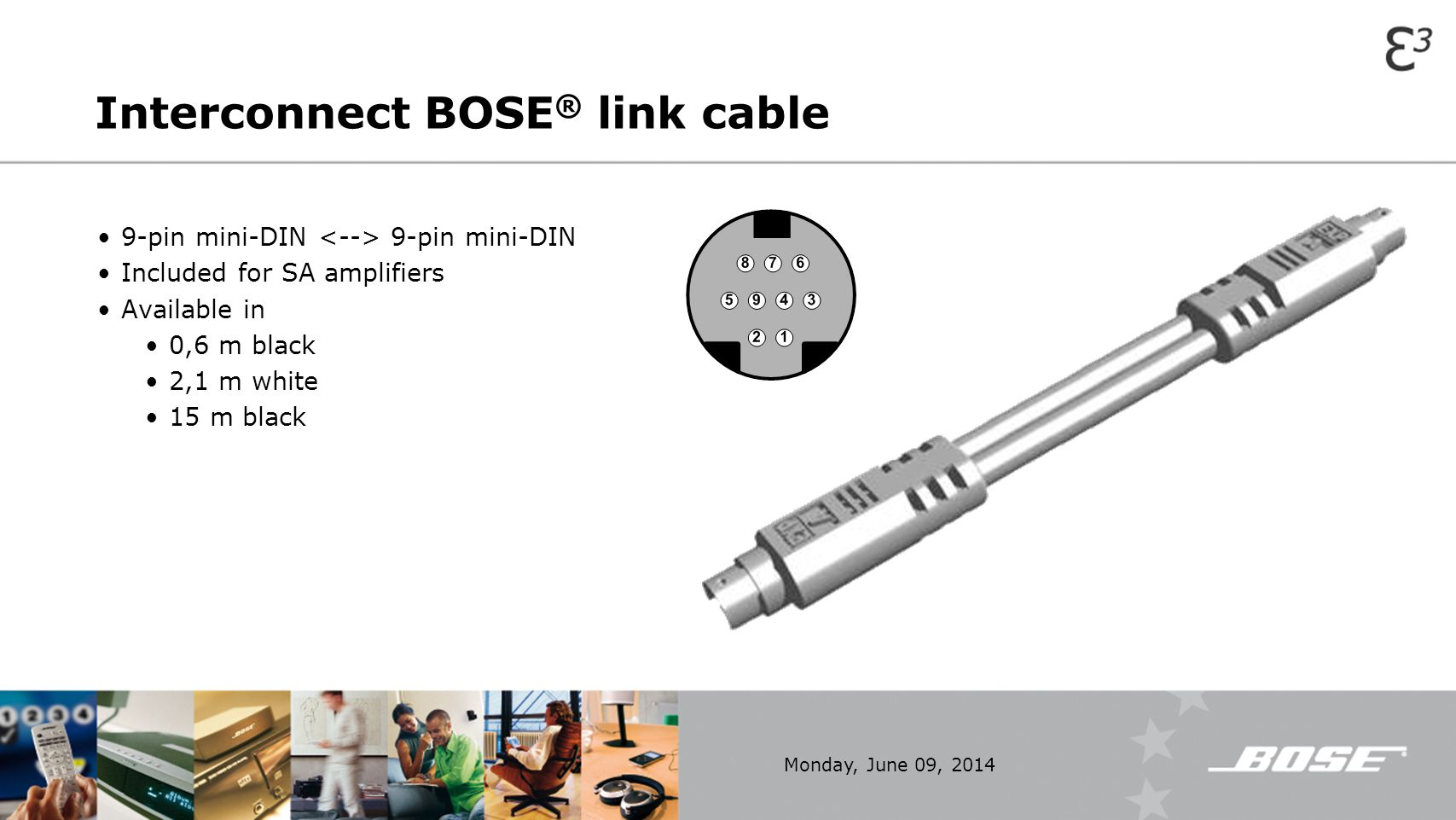 Interconnect BOSE® link cable