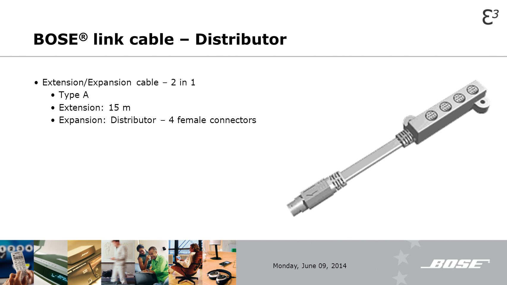 BOSE® link cable – Distributor