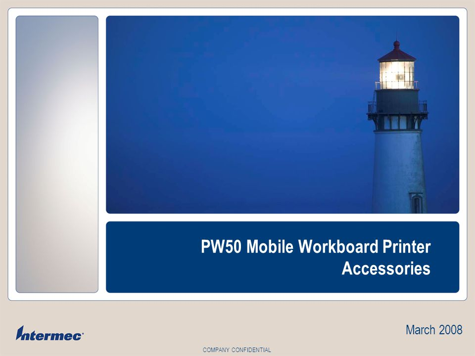PW50 Mobile Workboard Printer Accessories