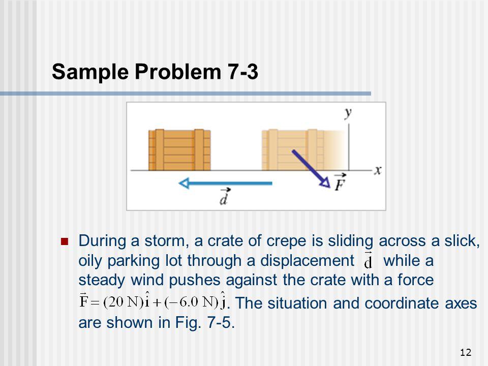 Sample Problem 7-3