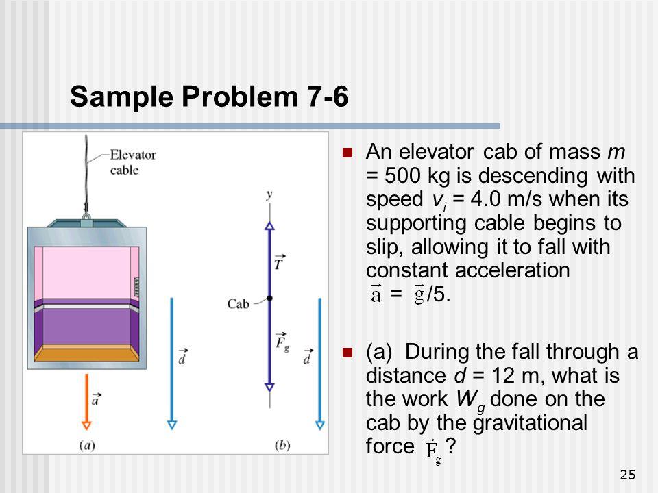 Sample Problem 7-6