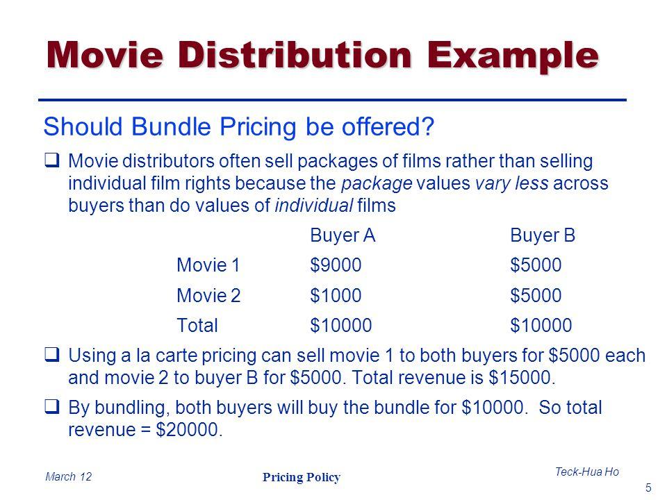 Movie Distribution Example