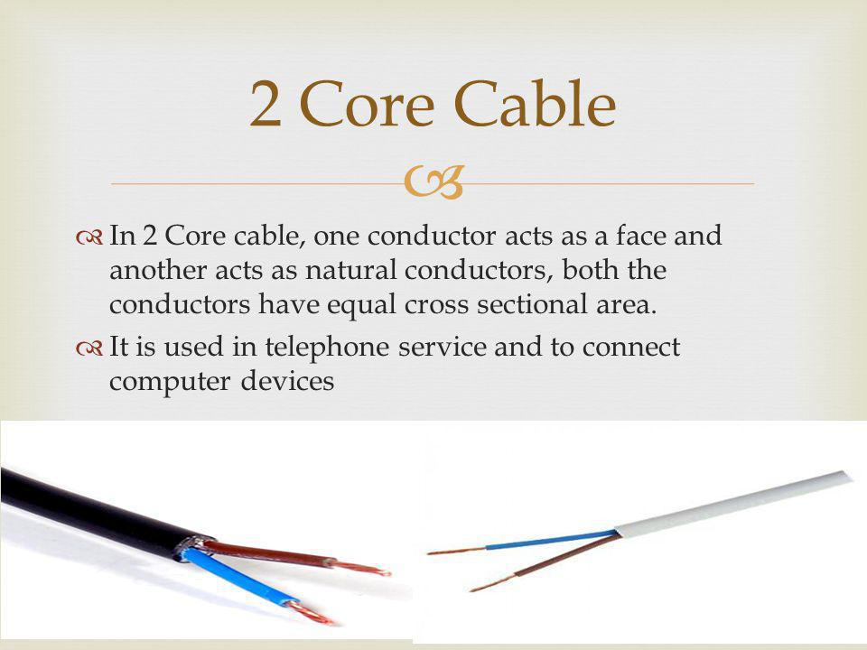 2 Core Cable